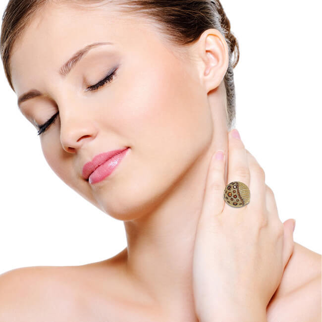 Tightening Aging Neck Skin
